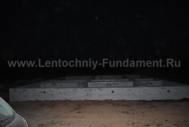 Фундамент ленточный Устройство ленточного фундамента